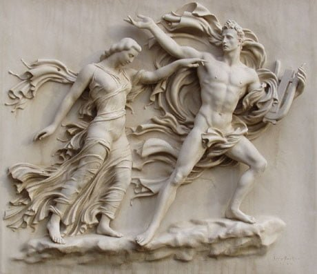 Orpheus and Eurydice, the myth about the love of Orpheus and