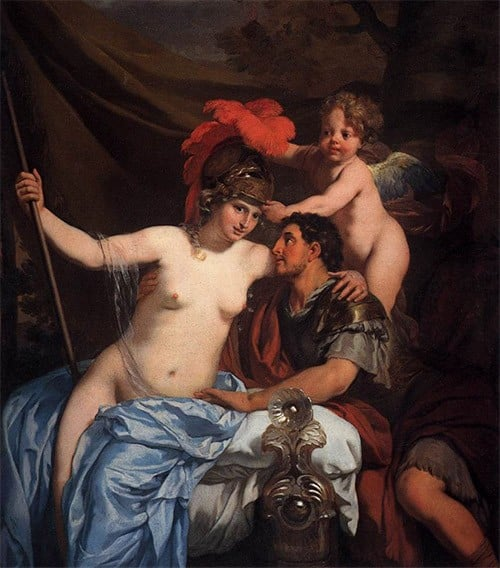 Calypso And Odysseus The Greek Myth Of Seduction By
