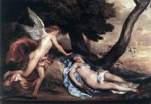 The myth of Psyche and Eros