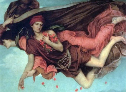 Hypnos and his mother Nyx