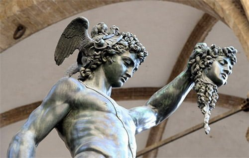 Image result for perseus and medusa