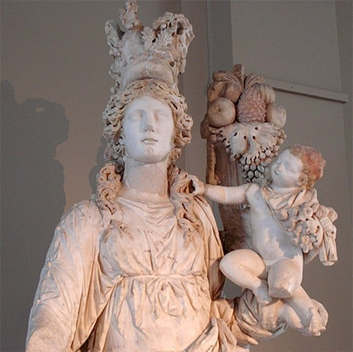 Tyche The Deity Of Fortune And Luck Tyche In Greek Mythology