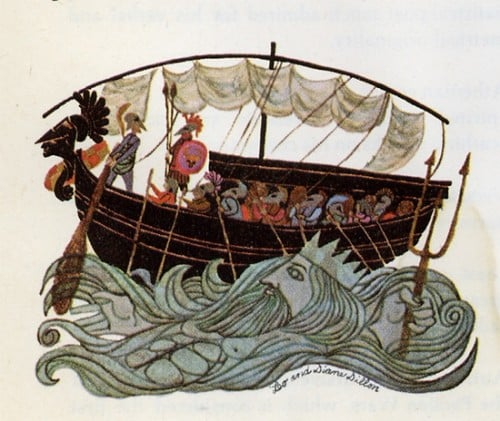 jason and the argonauts in ship Argo