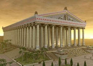 the temple of artemis in ephesus
