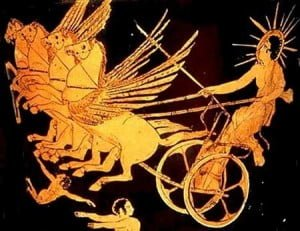 helios on his chariot