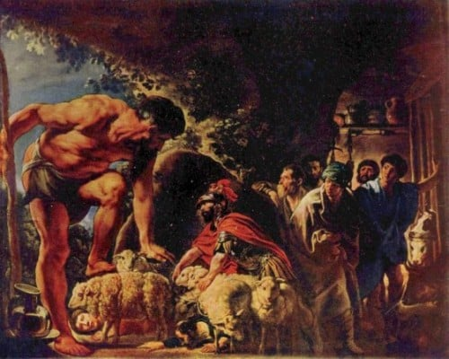 The Greek Myth of Odysseus and the Cyclops