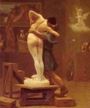 Pygmalion the sculptor