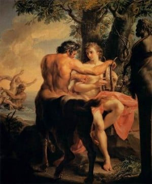 centaur cheiron and achilles